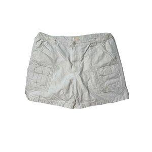 savane cargo hiking shorts size 42 stone 130 white